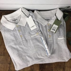 Lot of 2 Goodfellow Mens Polos Size Large